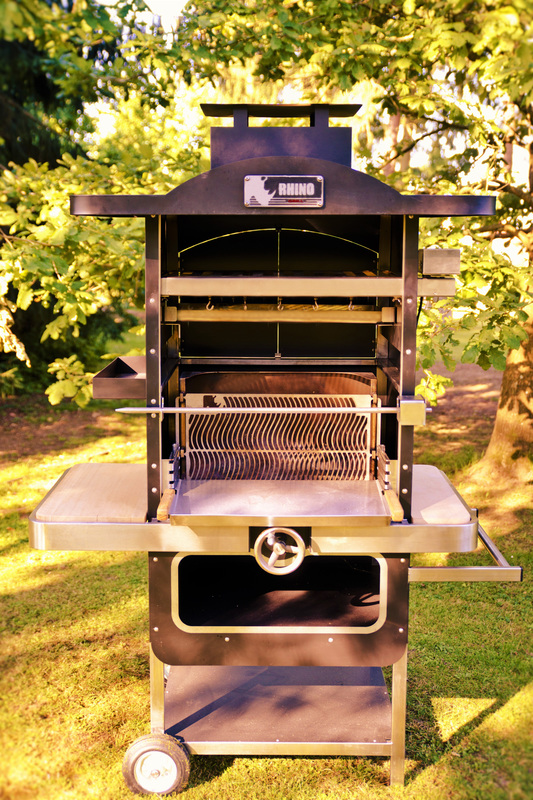 barbecue tournebroche 600 rhino grill