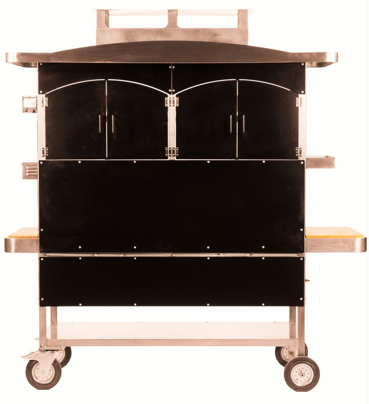 Barbecue d interieur vertical for Interieur barbecue