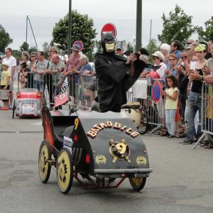Jean Yves sur la Batmobile - F.F.C.V.P.