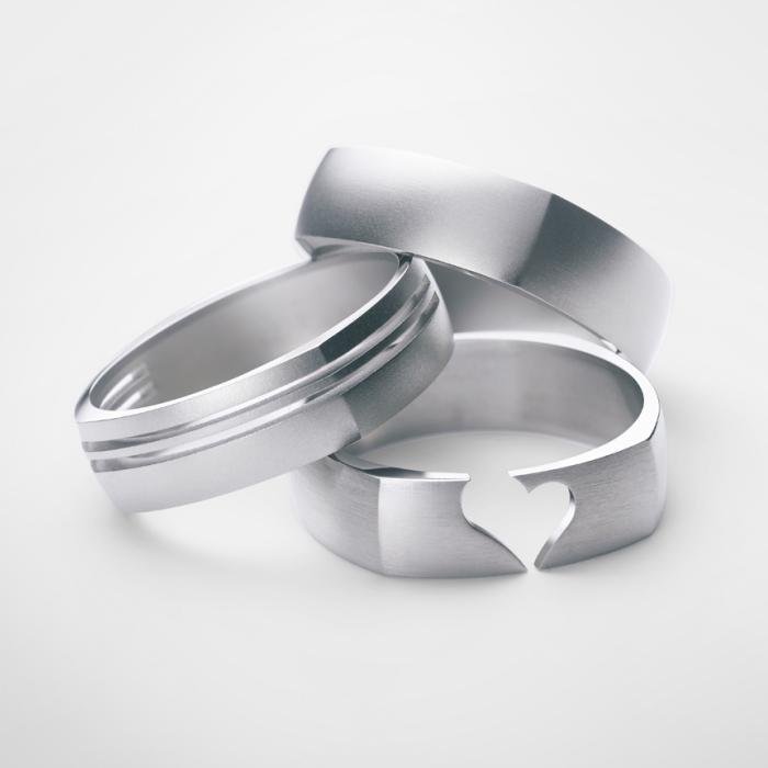 Titanium, cut, , costume jewellery - BD Product