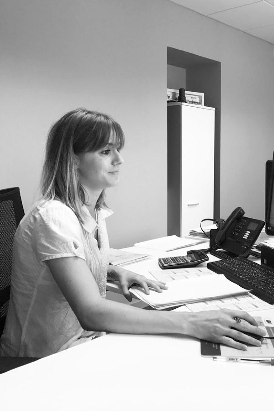 Marie SANIEZ - Assistante commerciale négoce - F3C