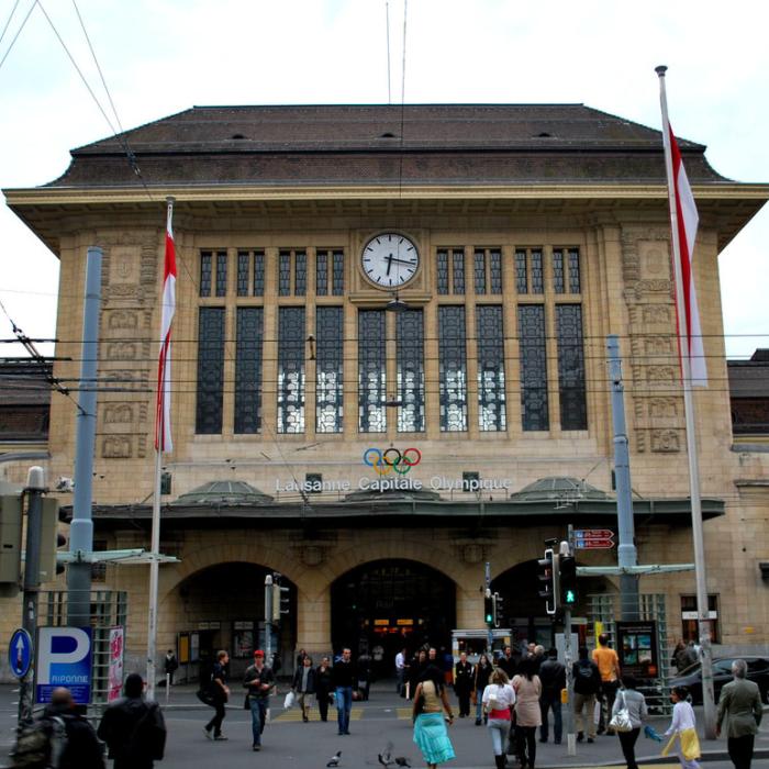 Buffet de la Gare à Lausanne - Commerces, restaurants, surfaces administratives, services et espaces publicsIvéo CONSEILS