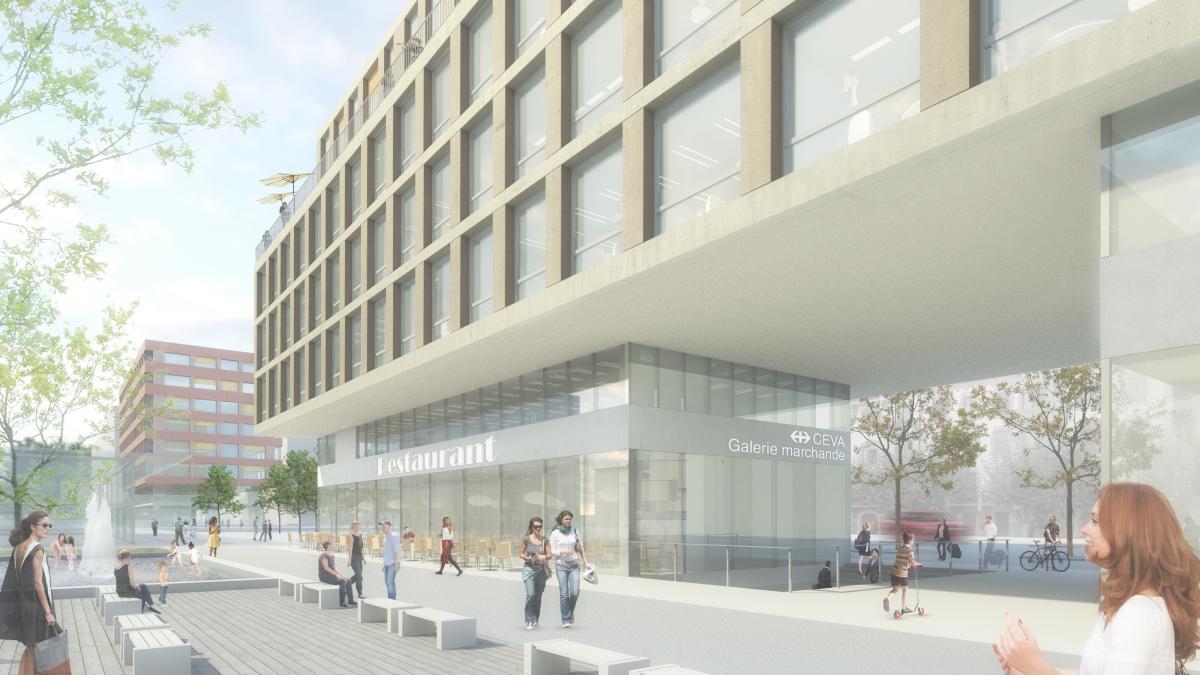 Galerie Commerciales et parking à Genève - Logements, bureaux, galerie commerciale et parking - Ivéo CONSEILS