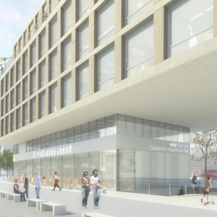 Galerie Commerciales et parking à Genève - Logements, bureaux, galerie commerciale et parkingIvéo CONSEILS