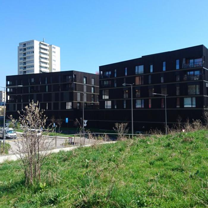 La Sallaz à Lausanne - 29 logements + crèche + bibliothèque + parking publicIvéo CONSEILS