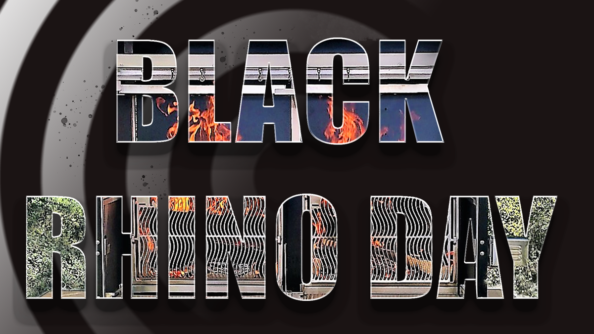 Black friday 2017 -25% sur l'ensemble de la gamme Rhino Grill