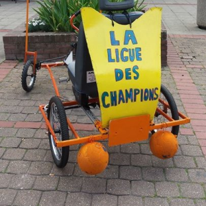 la voiture la ligue des champions de Reims - F.F.C.V.P.