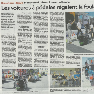 article presse course Beaumont Hague 2017 - F.F.C.V.P.