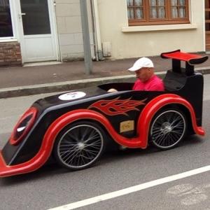 deadpool voiture du lycée de Saint Lo - F.F.C.V.P.