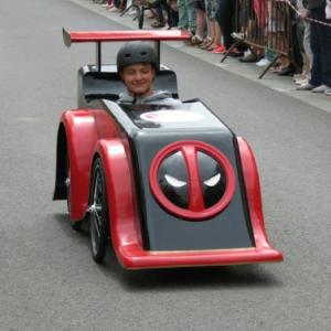 deadpool deuxième voiture du lycée de Saint Lo - F.F.C.V.P.