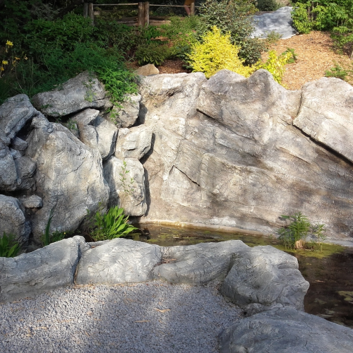 catégorie(s) : Sculptures béton - Cascade