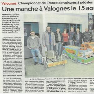 presse Valognes 2017 - F.F.C.V.P.