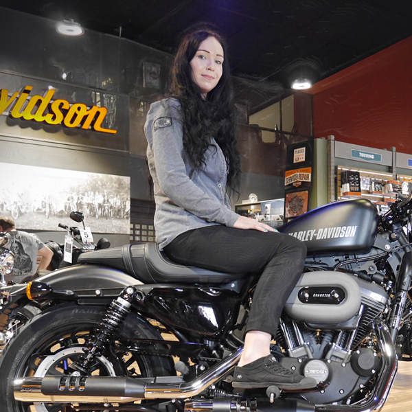 Concession - Amandine GROSJEAN - Assistante commerciale Responsable GM - Harley-Davidson Besançon