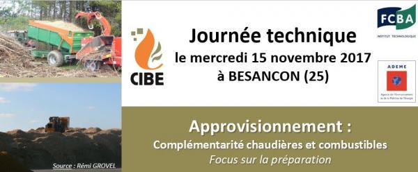 journée technique CIBE 2017 -