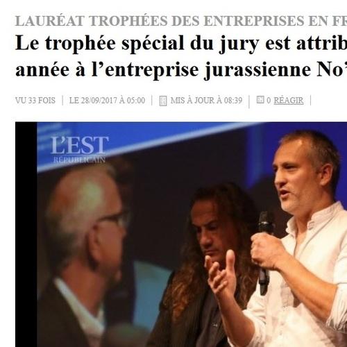 Trophée des entreprises Franche-Comté 2017 - Prix spécial du Jury