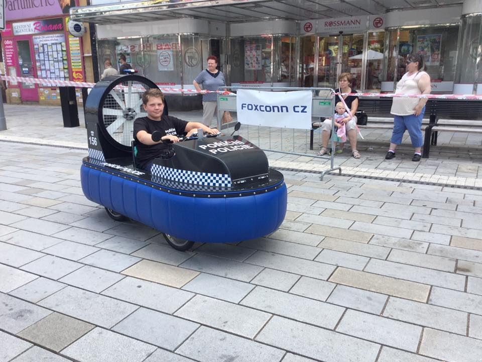 l'hovercraft de République Tchèque