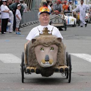 Evzen sur le Lion Tchèque de Hradec Kralové en République Tchèque - F.F.C.V.P.