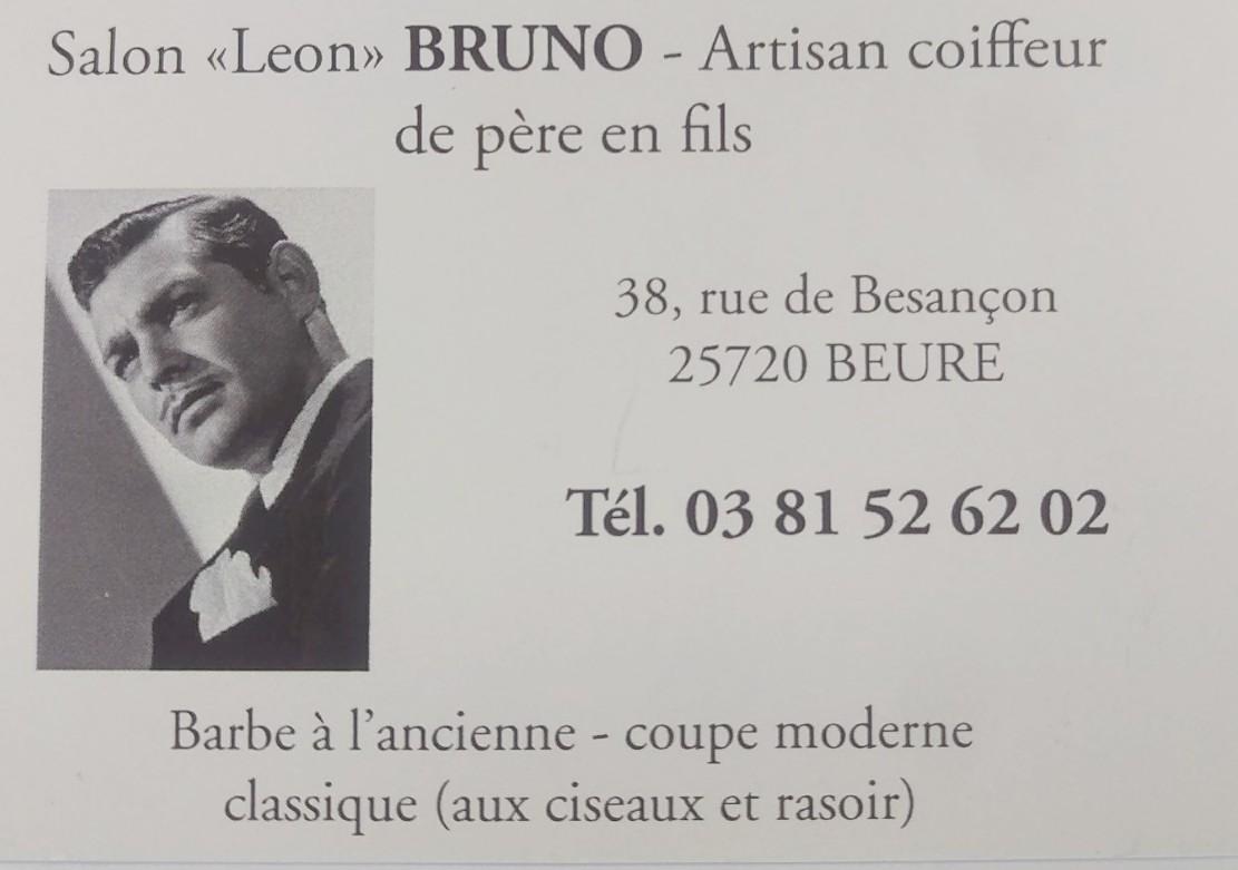 logo de Artisan coiffeur - Salon Léon BRUNO commerce à Beure