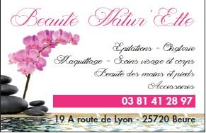 logo de BEAUTÉ NATUR'ELLE commerce à Beure