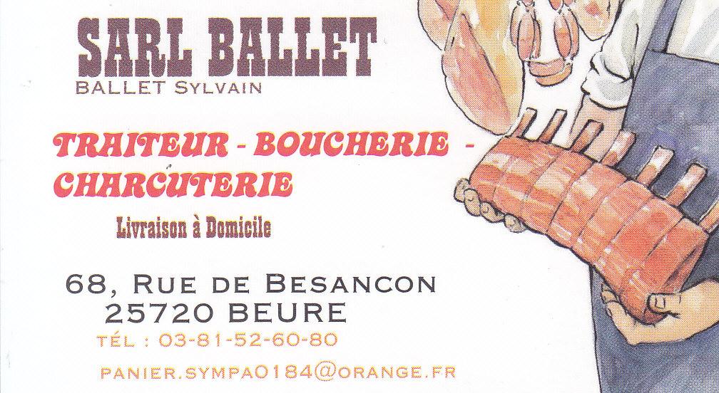 logo de SARL BALLET commerce à Beure